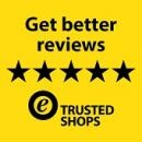 Trusted Shops trustmark & customer reviews