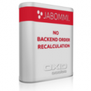 JABOMMI No Backend Order Recalculation