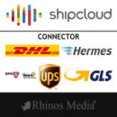 shipcloud Connector DHL DPD UPS Hermes GLS